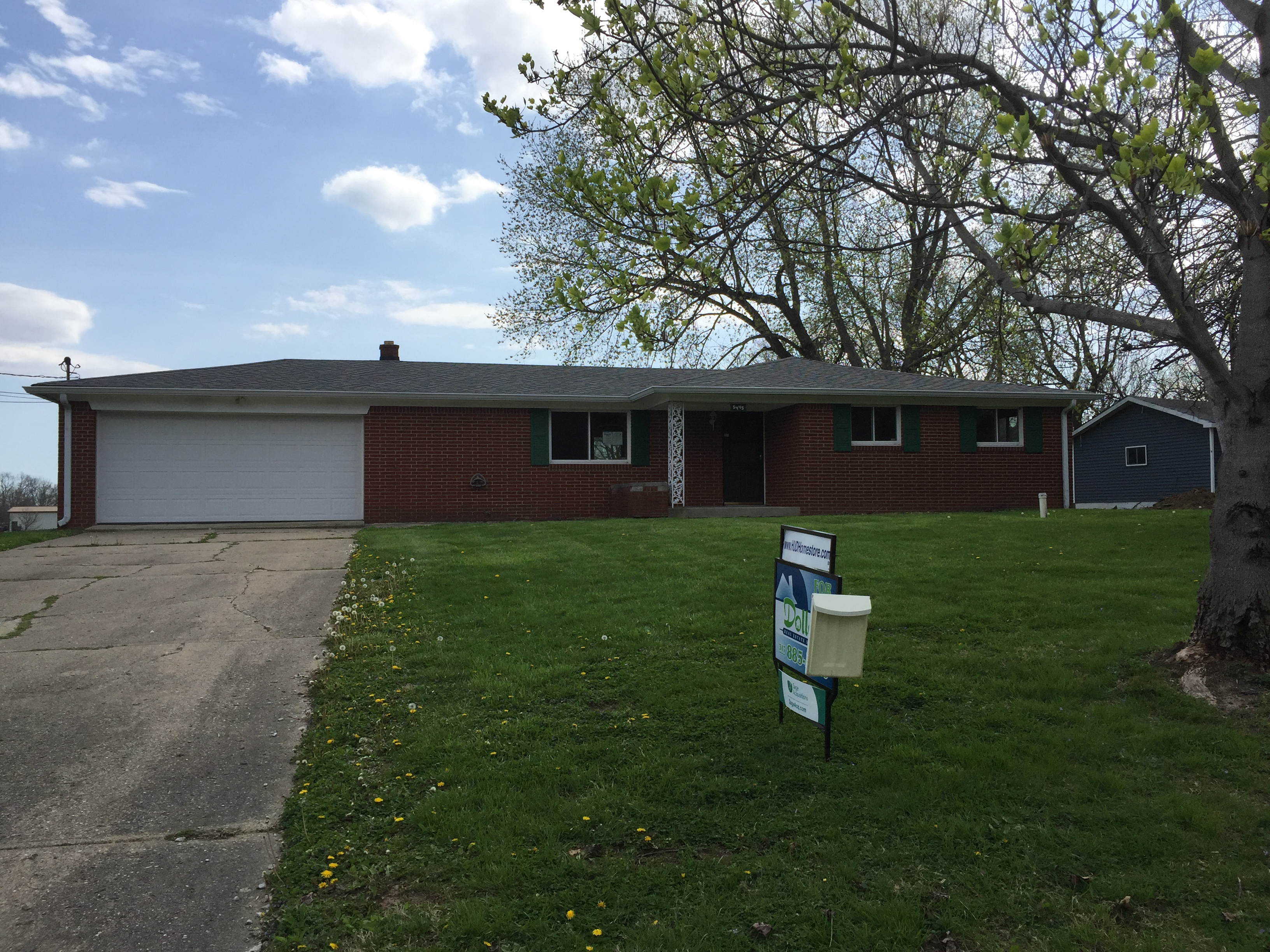 5445 W Southport Rd.  Indianapolis, Indiana 4622